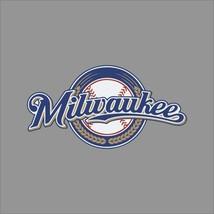 Milwaukee Brewers #7 MLB Team Logo Vinyl Decal Sticker Car Window Wall Cornhole - $4.40+