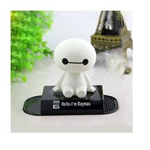 NUBEN Car Decoration Ornaments Auto Accessories Baymax Shaking Head Kid ... - $8.71