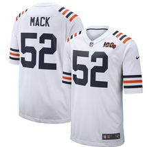 XL- Khalil Mack Chicago Bears Nike 2019 100th Season Alternate Classic Jersey - $135.00