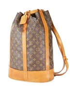 Authentic LOUIS VUITTON Randonnee GM Monogram Backpack Shoulder Bag #33549 - $379.00