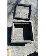 Large Steel sand casting flask form foundry mold 18 x 18 x 10 inch inner... - $95.00