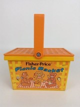Fisher Price Picnic Basket Toy #677 Teddy Bear Vintage 1974 Replacement - $14.80