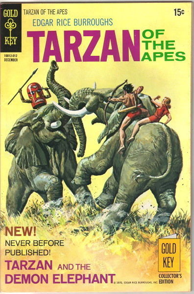 Primary image for Tarzan Comic Book #197, Gold Key Comics 1970 VERY FINE-
