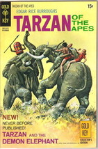 Tarzan Comic Book #197, Gold Key Comics 1970 VERY FINE- - $16.39