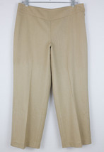 Talbots Petites Wool Blend Cropped Pants Stretch Career Women's Size 8 - $19.59