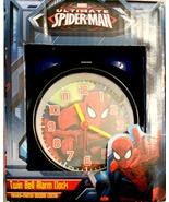 Ultimate Spider-Man Twin Bell Alarm Clocks - $25.00