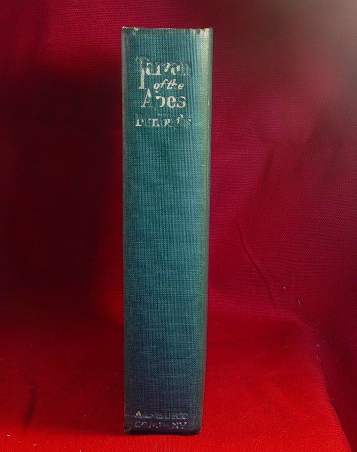 Edgar Rice Burroughs TARZAN OF THE APES w/dj-true 1st reprint 1915