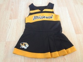 Infant/Baby Girls Missouri Tigers 18 Mo Cheerleader Cheer Outfit Dress Gen2 - $18.69