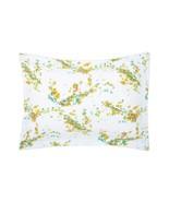 Yves Delorme Lucine King Duvet Set Floral Print Reversible Egyptian Cott... - $135.00