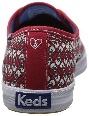 Keds Women's Taylor Swift Guitar Red Fashion Sneaker size 6