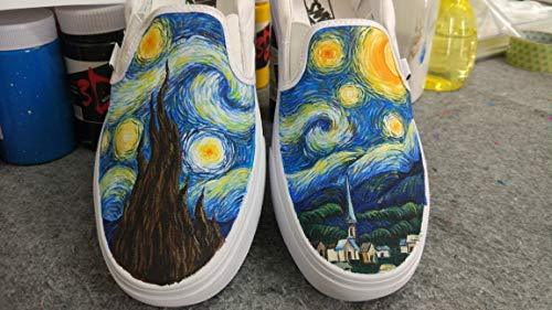 76b13d5beb 518bwfwmvcl. sl1500. 518bwfwmvcl. sl1500. Vincent Van Gogh Vans Shoes Women  Men Sneaker for Women Slipon Hand Painted Shoe