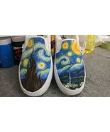 a8e5d5dbdb2 Vincent Van Gogh Vans Shoes Women Men Sneaker for Women Slipon Hand Pain.