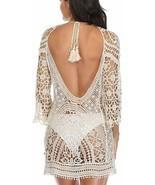 Sexy Coverup Women's Beach Bikini Swimsuit Cover Ups Crochet Lace Dress ... - $18.59+