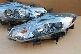 09-14 Nissan Murano Halogen Headlight Head lights Lamps Set L&R MINT image 5
