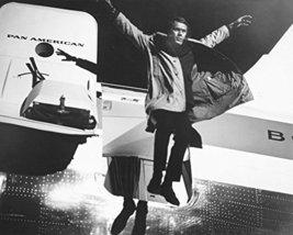 Steve Mcqueen In Bullitt 16X20 Canvas Giclee Leaping From Pan Am Plane - $69.99