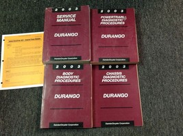 2003 DODGE DURANGO Service Repair Shop Manual Set OEM W Diagnostics Proc... - $148.45