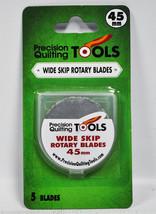 Precision Quilting Tools 45mm Hoja Giratoria 5 Cuentas - $22.45