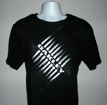 Mens Oakley T Shirt Large Black White Logo Design Regular Fit - $22.72