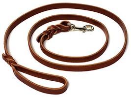 "Leather Dog Training Leash - 6' X 1/2"" - $36.81 CAD"