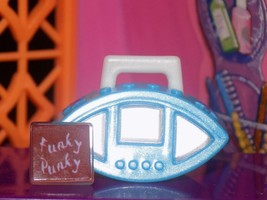 Bratz Blue stereo boombox radio cd lot fits Fisher Price loving family dollhouse - $4.99