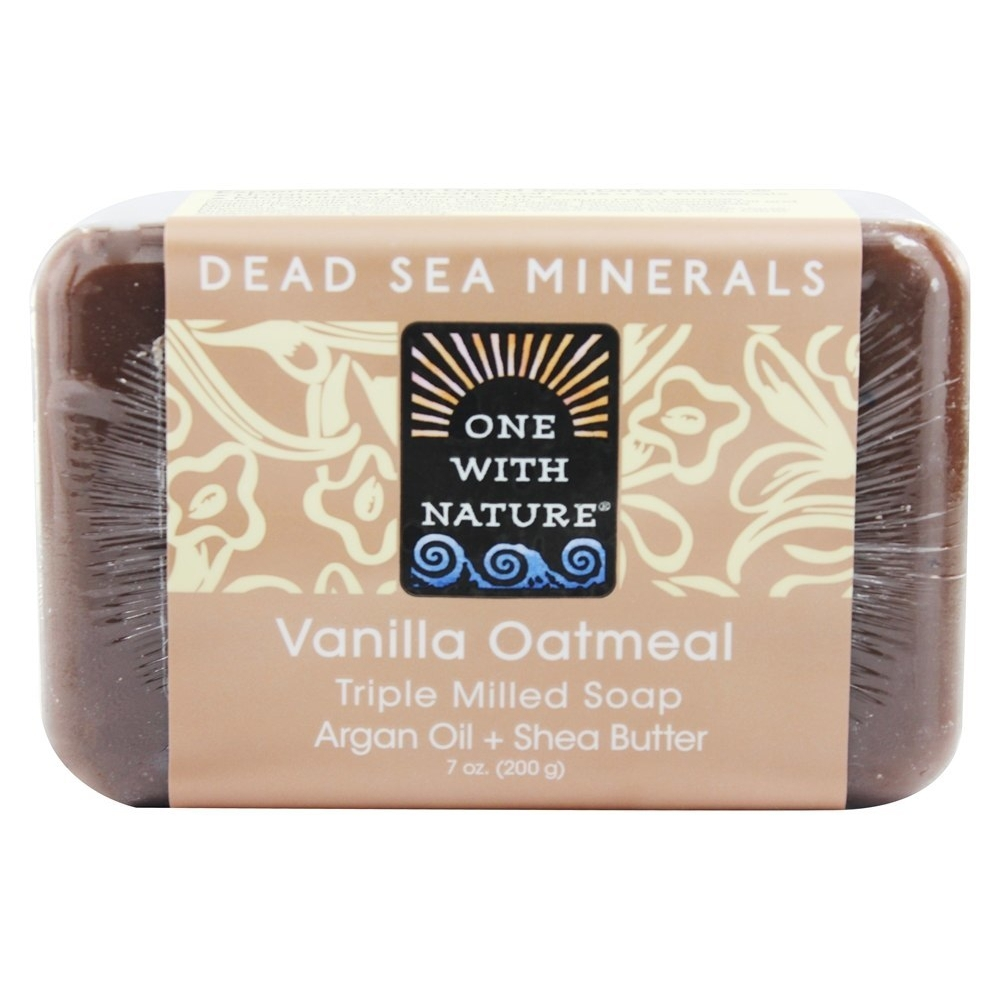 Primary image for One With Nature Dead Sea Mineral Bar Soap Mild Exfoliating Vanilla Oatmeal, 7 Ou