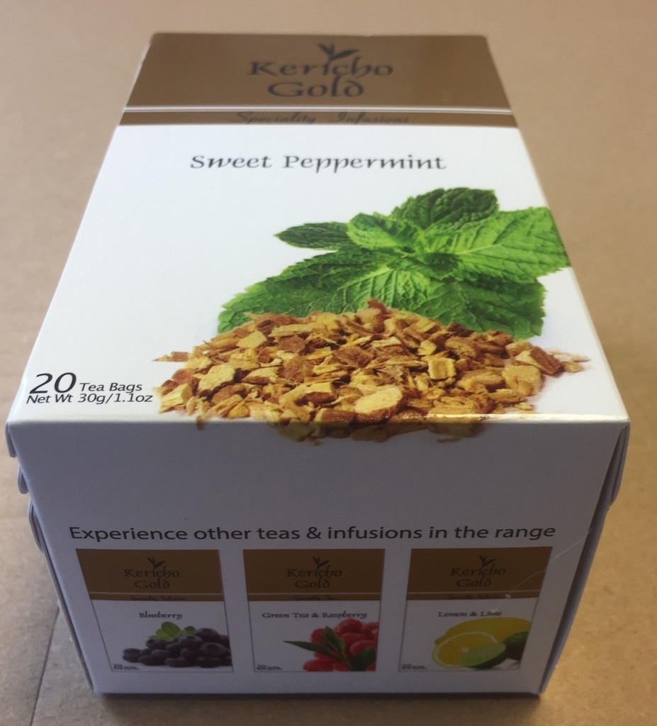 Primary image for Peppermint Tea - Kericho Gold Sweet Peppermint herbal Tea infusions