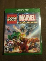 LEGO Marvel Super Heroes (Microsoft Xbox One, 2013) Rated E 10+ WB Games NIP - $23.75