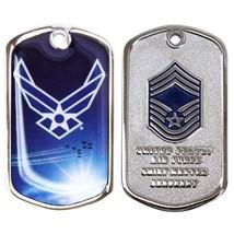 Genuine U.S. Air Force Coin: Chief Master Serg EAN T E-9 - $17.80