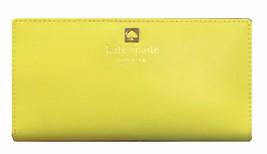 Kate Spade Charlotte Terrace Stacy Limoncello Yellow Clutch Wallet WLRU2... - ₨6,437.38 INR