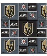 10 yards NHL Las Vegas Golden Knights 43 inch cotton sewing fabric crafts - $178.19