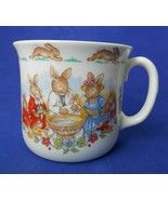 Royal Doulton Bunnykins Celebrate Your Christening 8 Oz. Mug Cup HW142 B... - $3.50