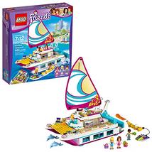 LEGO Friends Sunshine Catamaran 41317 Building Kit 603 Piece - $84.17