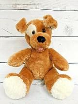 "Build A Bear Soft Brown Sugar Pup Puppy Dog 14"" Stuffed Animal Plush 2009 Vtg - $13.25"