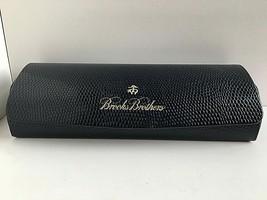 Brooks Brothers Eyeglasses Hardshell Blue Case with Cloth - $15.99