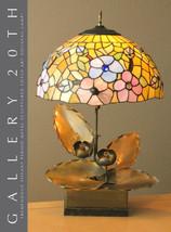 SUPERB! ORIGINAL ART NOUVEAU LOTUS SCULPTURAL LAMP! VTG 30'S 20'S DECO T... - $2,375.00