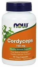 NOW Foods Cordyceps 750 mg-90 Vegi Caps - $20.91