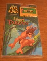 Walt Disney Read Along Tarzan Cassette audio Tape Book 24 Page Vintage NEW - $14.93