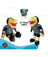 """Las Vegas Golden Knights NHL Mascot Chance 16"""" H Stuffed Animal Plush Do... - $55.44"""