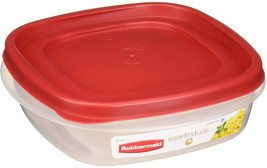Rubbermaid 608866902584 Easy Find Lids Square 3-Cup Food Storage Contain... - $27.53