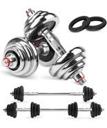 2 in 1 Dumbbells & Barbell Set 20kg / 30kg for Home Fitness & Strength T... - $146.52+