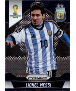 2014 Panini Prizm World Cup #12 Lionel Messi - Argentina 1st Year Prizm - $300.00