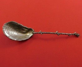 """Gorham Sterling Silver Almond Scoop with Oyster Shell Bowl 5 3/4"""" Aesthetic - $489.00"""