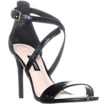 Nine West Mydebut Dress Heel Sandals, Black, 7.5 US - $31.67