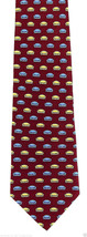 Vicky Davis Couch Potato Mens Silk Red Neck Tie Flip Necktie Funny Gift ... - $19.75