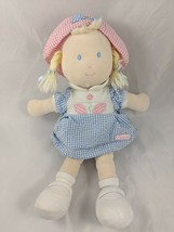 """Carters Blond First Doll 12"""" Pigtails Stuffed Has Issues - $5.56"""
