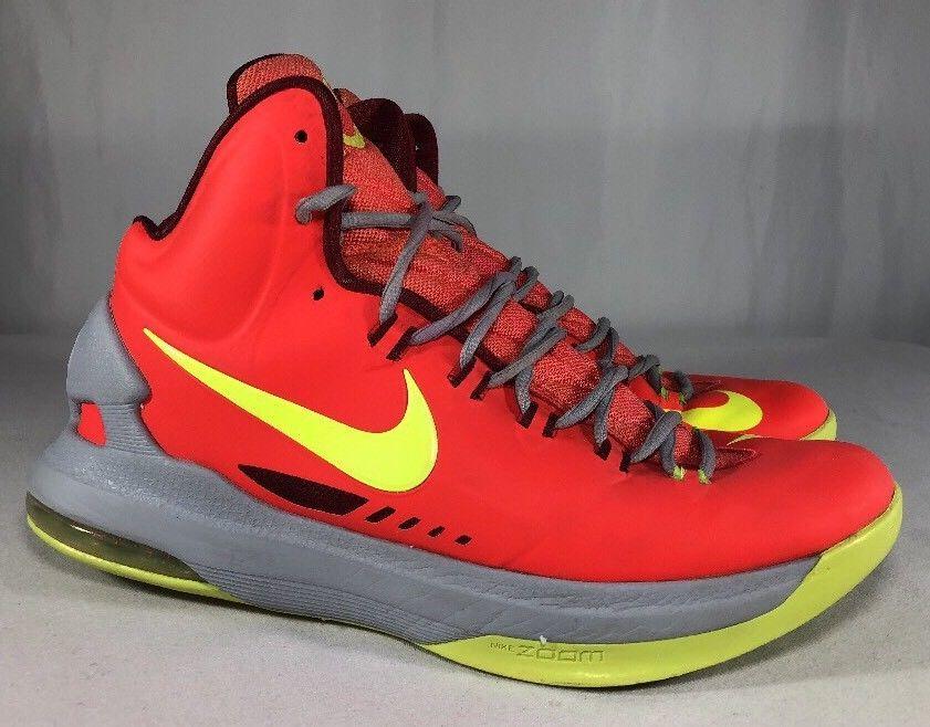 on sale 093ba 9f5d0 Nike KD V 5 Bright Crimson Volt-Grey DMV and 50 similar items