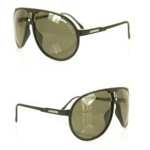 Carrera Champion / L DL5 - QT Aviator Shaped Black Sunglasses - $108.90