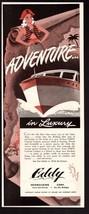 Original 1946 Print Ad Florida Sunshine State Tourism Advertisement - $7.59