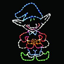 Christmas Light Display LED Elf Yard Art Outdoor Lighted Holiday Decorat... - $299.00