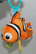 Finding Nemo Disney Baby Toy Crib Stroller Teether Rattle Crinkle Plush ... - $24.70